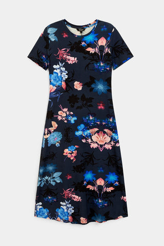 Floral T-shirt Bouquet dress