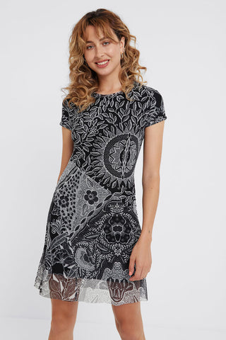 Multilayer Paris dress