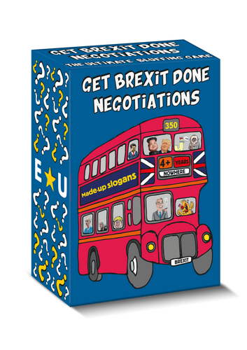 Brexit Negotiations - 'How long will this take?' edition (Pre-Order)