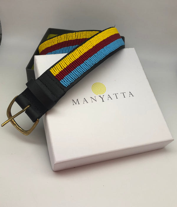 The Chelsea Arts Club Maasai beaded belt