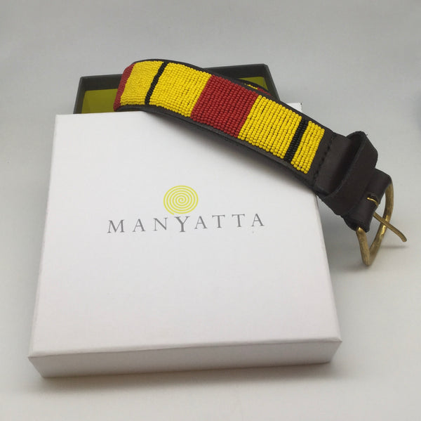 Yellow, Black & Red - Manyatta