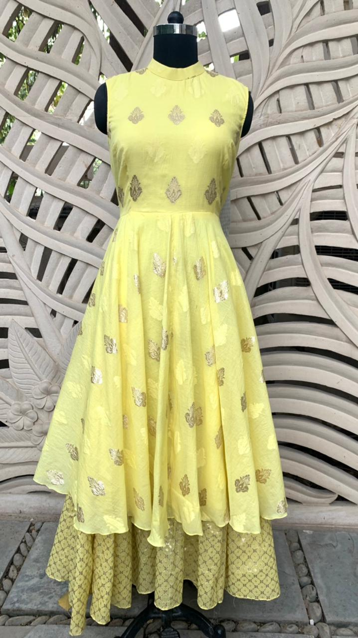 Lemon Yellow Maxi