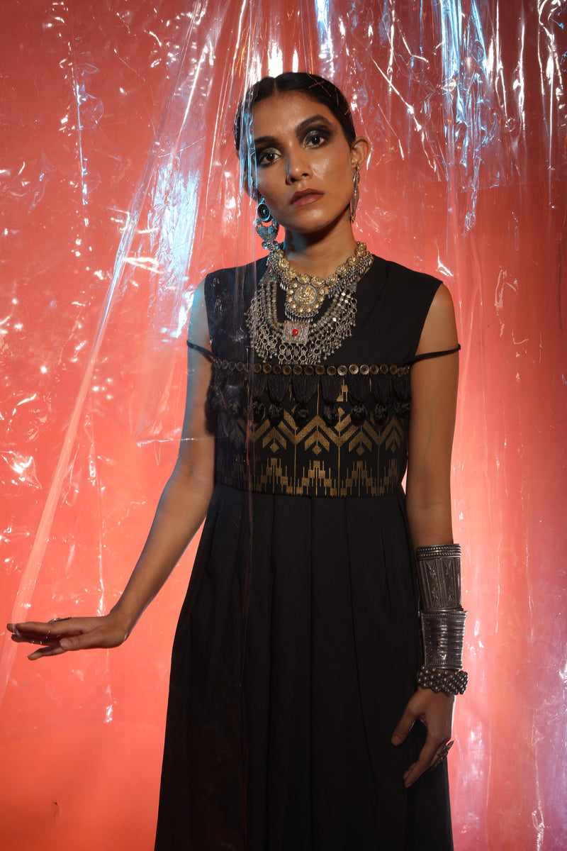 Purva Thakur In Black Dress With Band