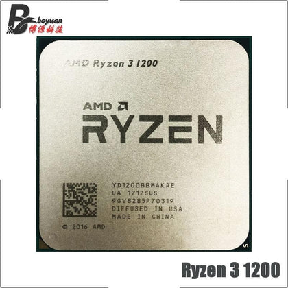 Ryzen 3 1200 R3 1200 3.1 GHz Quad-Core Quad-Thread CPU Processor YD1200BBM4KAE Socket AM4 - Go Buy Dubai