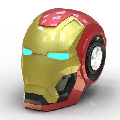 Mobile phone Speakers Bluetooth Iron Man Bluetooth Speaker Subwoofer With FM Radio Support TF Card For Phone PC Speaker - Go Buy Dubai