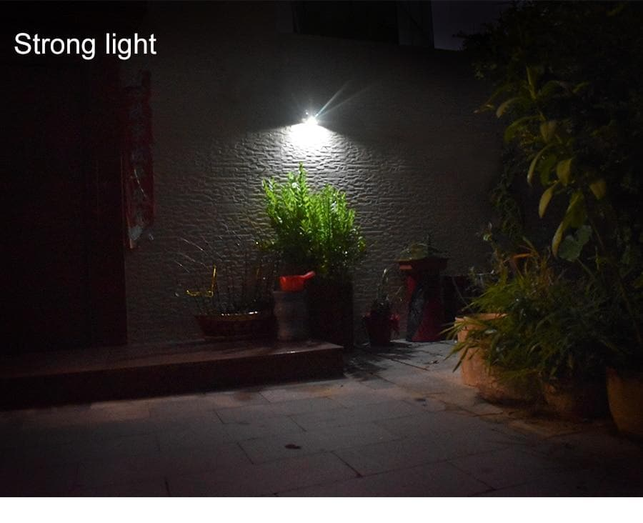 LED Solar Light PIR Motion Sensor Waterproof Outdoor Wall Lights Stainless Steel Shell Lighting For Garden Home Use New