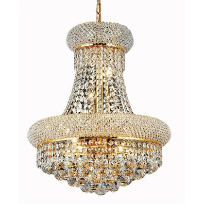 Phube Lighting French Empire Gold Crystal Chandelier Chrome Chandeliers Lighting Modern Chandeliers Light - Go Buy Dubai