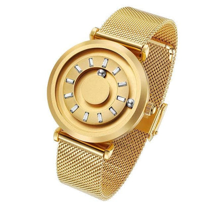 Rose Gold Unique Designer Quartz Luxury Woman Wrist Watch - Go Buy Dubai
