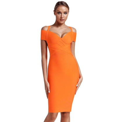 Women Off Shoulder Bandage Dress 2020 New Arrivals - Go Buy Dubai