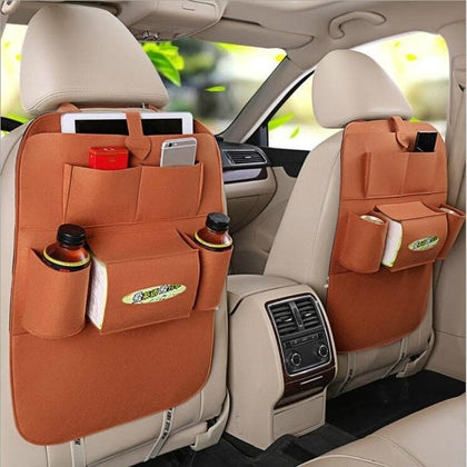 Portable Car Bag Type Seat Back The Chair Carrying Bags of On-board Vehicle Insulation Sundry Hanging Storage Box - Go Buy Dubai
