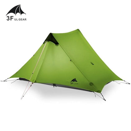 3F UL GEAR 2019 lanshan 2 Tent 2 Person Oudoor Ultralight Camping Tent 3 Season Professional 15D Silnylon Rodless Tent 4 Season - Go Buy Dubai
