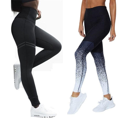 Women Leggings For Fitness High Waist Workout Wear Running Tights Gym Pants Seamless Leggings Sports Tight Breathable S-XL Pants - Go Buy Dubai