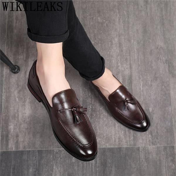 Men's Designer 2020 Oxford Leather Casual Costume Shoes