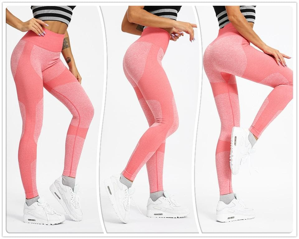 Seamless Leggings High Waist Women Pants Tummy Control Tights Workout Active Wear Gym Leggings Women Yoga Pants For Fitness