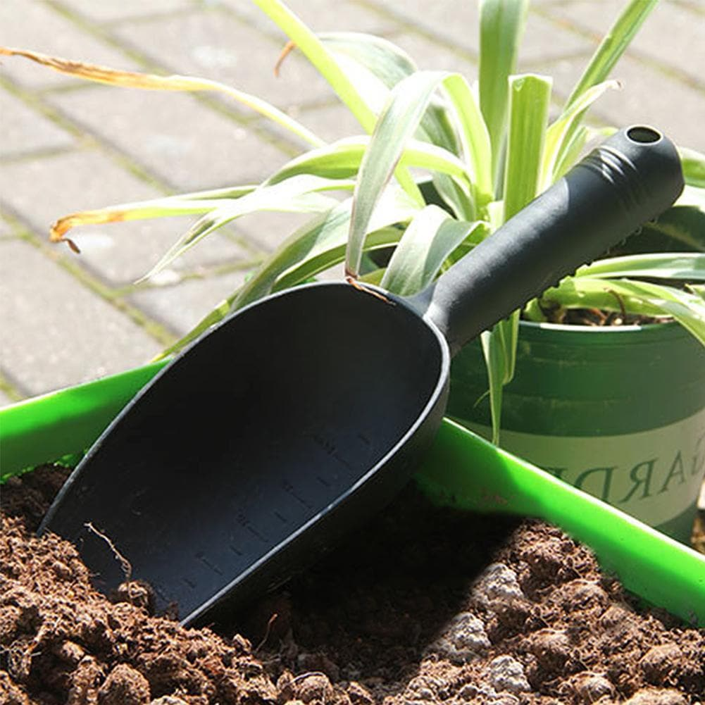flower vegetables planting soil loosening shovel Home Gardening Tools Plastic Soil Shovels Succulent Plants Soil Shovels #20