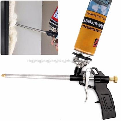 Manual PU Spray Foam Gun Heavy Duty Good Insulation DIY Professional Applicator Foam Gun JUN28 dropship - Go Buy Dubai