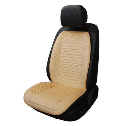 1 Pcs 12V Electric Fleeced Car Heated Seat Cushion Cover Seat Car Seat covers Heater Warmer Winter Household Mat - Go Buy Dubai