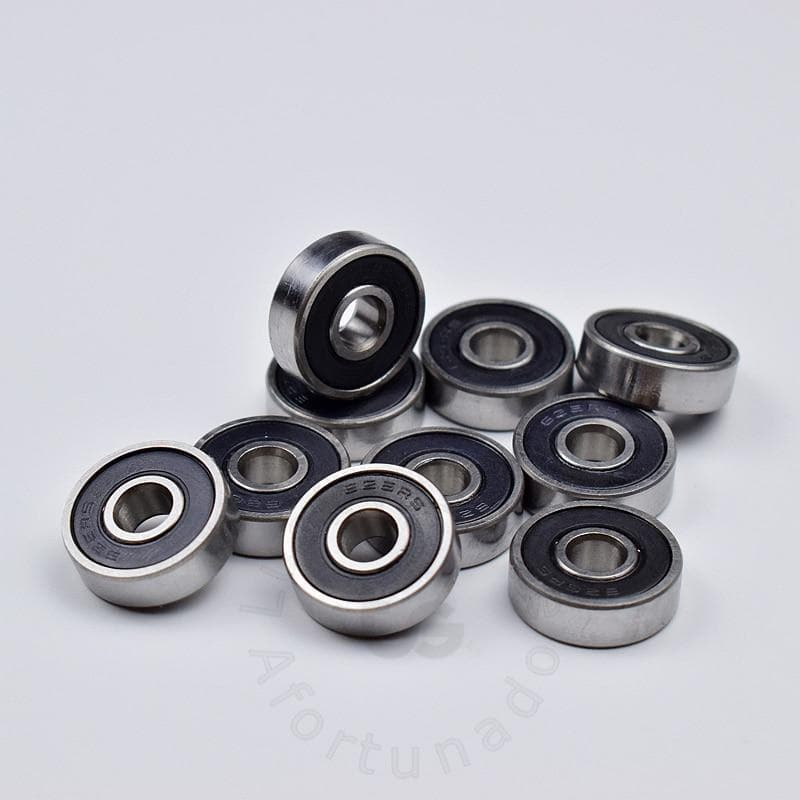 626 626RS 6*19*6(mm) 10pieces  bearing free shipping ABEC-5 bearings rubber Sealed Mini Bearing 626 626RS chrome steel bearing