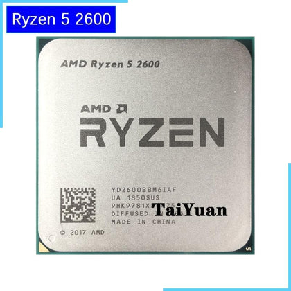 Ryzen 5 2600 R5 2600 3.4 GHz Six-Core Twelve-Core 65W CPU Processor YD2600BBM6IAF Socket AM4 - Go Buy Dubai