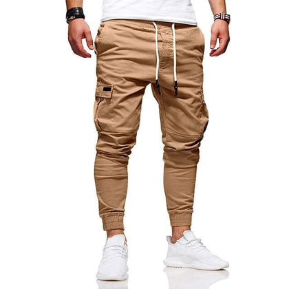 Men Fashion Pants Cargo Overalls Streetwear Joggers Hip Hop Sweatpants Casual Breathable Brand Trousers Male Harem Pants Casual - Go Buy Dubai