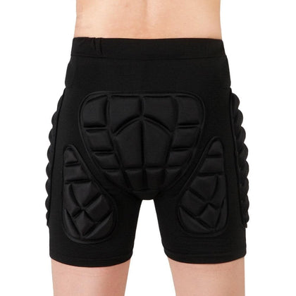 WOSAWE Unisex motorcycle shorts Ski Snowboarding Protective Gear Hip Butt Pad Extreme Sports MTB Bike Armor motocross Shorts - Go Buy Dubai