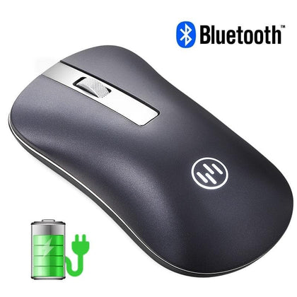 Rechargeable Wireless Mouse Bluetooth Mouse Computer Mouse Wireless Ergonomic Silent PC Mause Mini USB Optical Mice For Laptop - Go Buy Dubai