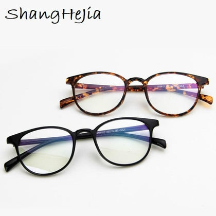 Retro Glasses Spectacle  Optical Glasses Women Prescription Glasses Men Eyeglasses Frame Oculos Computer Glasses - Go Buy Dubai