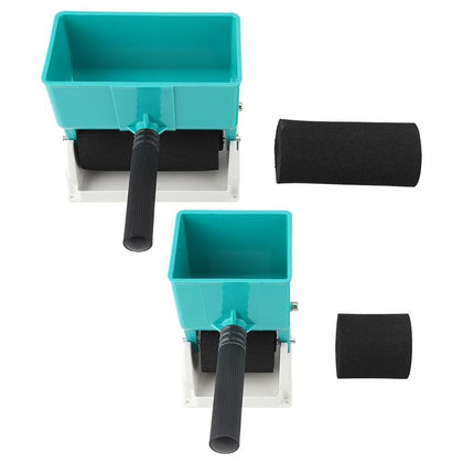 New 180mL/320mL Paint Buckets Portable Handheld Glue Applicator Roller Manual Gluer for Woodworking Paiting Tool - Go Buy Dubai