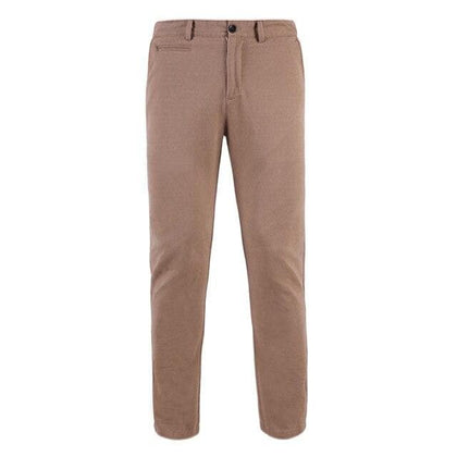 Pioneer Camp casual pants men 100% cotton brand clothing khaki dark blue US size AXX902191Y - Go Buy Dubai