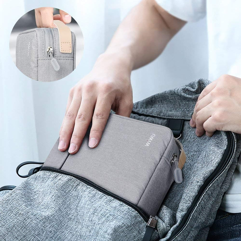 New Storage Bag Traveling Digital Electronic Accessories Pouch Waterproof Battery Storage