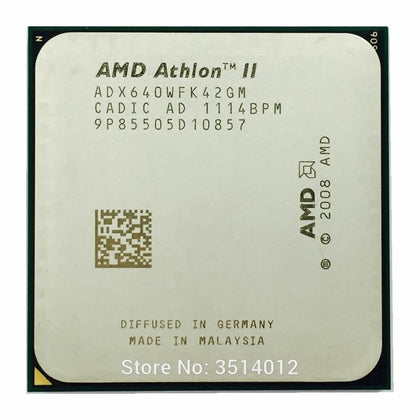New 2020 Athlon II X4 640 3.0 GHz Quad-Core CPU Processor ADX640WFK42GM Socket AM3 - Go Buy Dubai