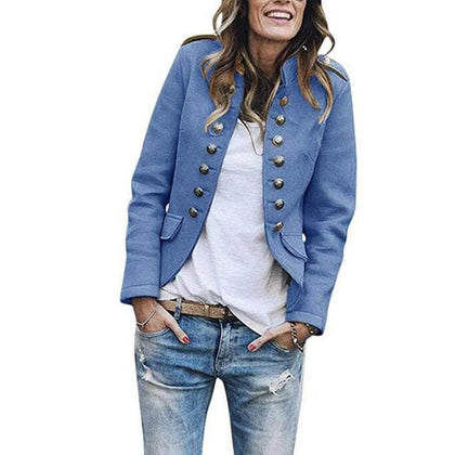 Women Blazers Short Coat 2020 Long Sleeve Jackets - Go Buy Dubai