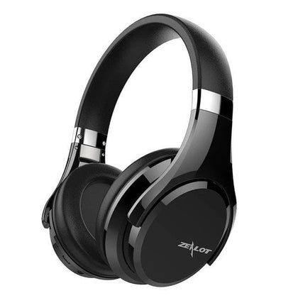 Wireless  Foldable Bass Bluetooth Headphones with Microphone for Computer - Go Buy Dubai