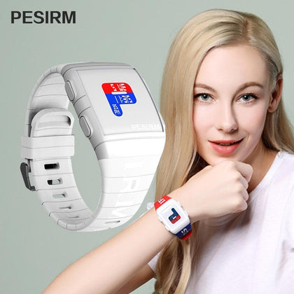 PESIRM Fashion LED Outdoor Sports Smart Women Digital Watches Waterproof Top Brand Colorful Watch For Women Relogio - Go Buy Dubai