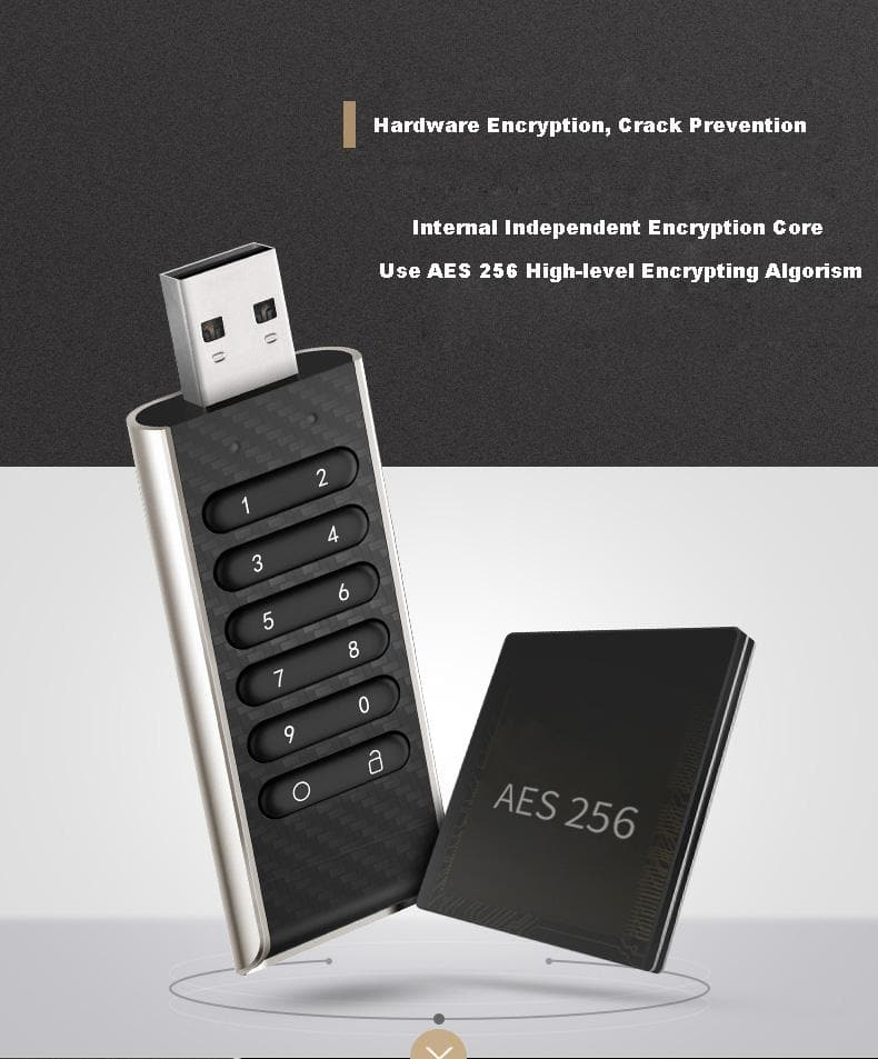Teclast Pendrives CreSecure 32gb Key Encryption cle usb Flash Drives Memory