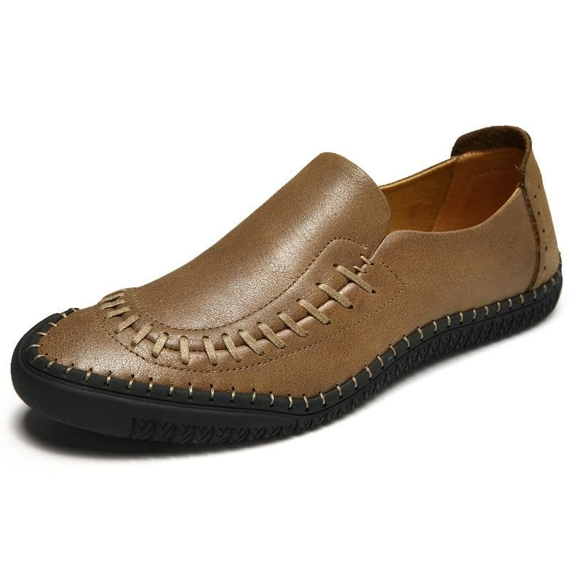 Men's Spring season Business Fashion Leather Shoes