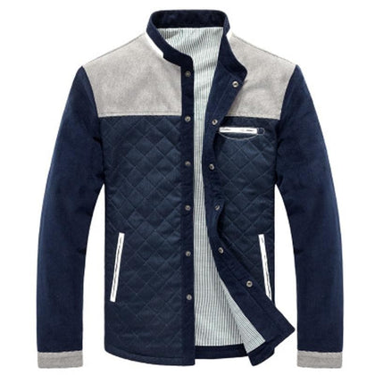 New 2020 Men's Stand collar Slim Fit Fashion Outdoor Jackets - Go Buy Dubai