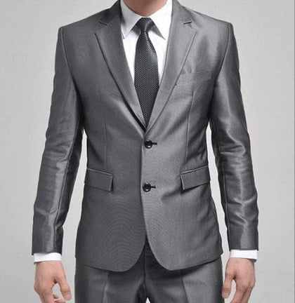 NoEnName_Null 2020 Latest Coat Pant Designs Men's Business Suits - Go Buy Dubai