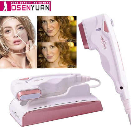 2020 Lescolton Ultrasonic Mini HIFU Skin Rejuvenation RF Lifting Beauty Therapy High Intensity   Skin Care SPA Beauty Instrument - Go Buy Dubai