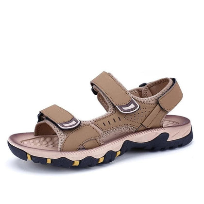 2020 High Quality Leather Sandals For Men - Go Buy Dubai