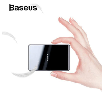 Baseus 15W Qi Wireless Charger Portable Ultra Thin Wireless Charging Pad for iPhone 11 Pro X XS XR 8 Samsung S10 S9 Xiaomi mi 9 - Go Buy Dubai
