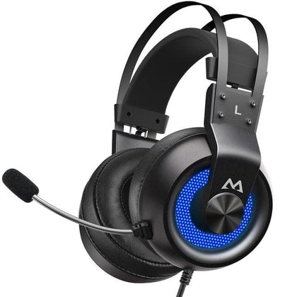 Mpow EG3 Pro Gaming Headphones For iPad PS4 PC Laptop Tablet Phones 3.5mm Jax & USB Cable Support Volume/Mic Control 50mm Driver - Go Buy Dubai