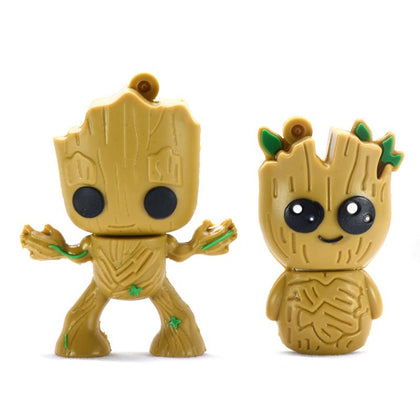 usb flash drive 32GB 4GB 8GB 16GB 64GB Marvel Super hero Tree man pen drive 128GB 256GB memory Groot usb stick pendrive - Go Buy Dubai