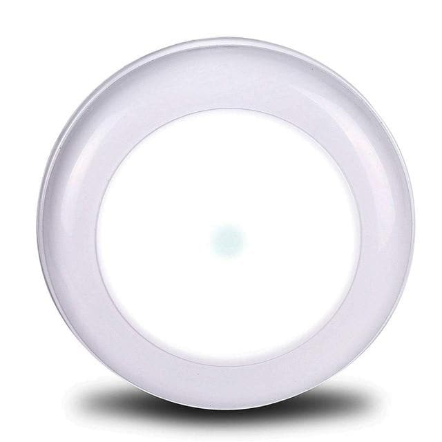 Wireless Motion Sensor Ceiling Light Battery Operated Sensing Activated LED Lamp Entrance Closet Stairs Hallway Garage Bathroom