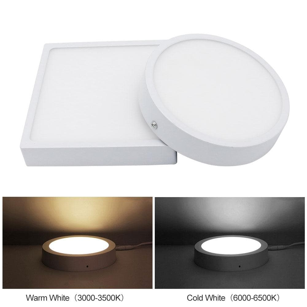 [DBF]5W/8W/16W/22W Round/Square LED Panel Light Surface Mounted Downlight Lighting LED Ceiling Panel Light with AC85-265V Driver