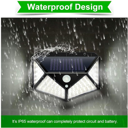 Garden Solar Lamp PIR Motion Sensor LED Solar Light Solar Powered By Sunlight Waterproof for Outdoor Wall Street Decoration - Go Buy Dubai
