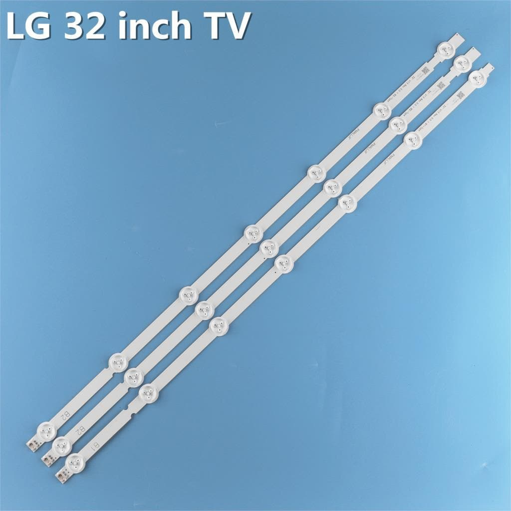New Original 3 PCS/set 7LED B1/B2-Type LED Backlight Strip for LG 32LN541V 32LN540V 6916L-1437A 6916L-1438A LC320DUE SF R1