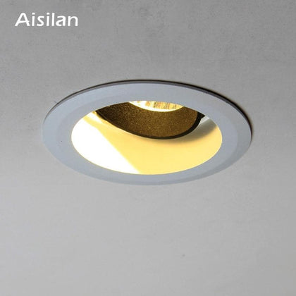 Aisilan Downlight 7W  Round Recessed Lamp AC 90-260V Led Spot light Bedroom Kitchen Indoor LED Spot Lighting - Go Buy Dubai