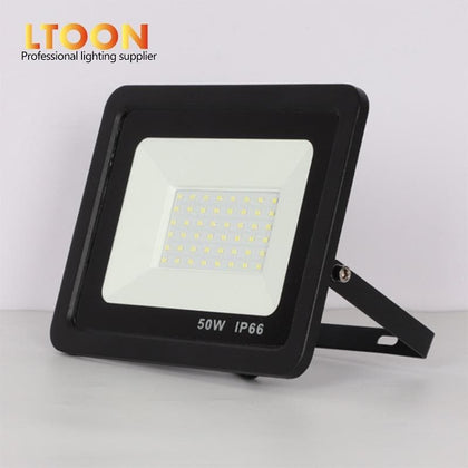 [LTOON]LED Floodlight 100W 50W 30W 20W 10W Ultra Thin Led Flood Light Spotlight Outdoor 220V IP66 Outdoor Wall Lamp Flood Light - Go Buy Dubai