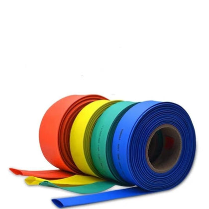 1 Meter heat shrinkable Shrink Heatshrink Tubing Tube Sleeving Wrap Wire Sell DIY Connector - Go Buy Dubai